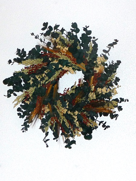 Eucalyptus Fields Wreath