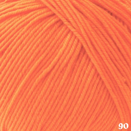 Zitron Lifestyle Yarn 90 Orange